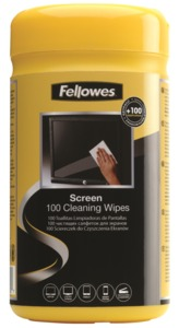 Fellowes Display Cleaning Wipes