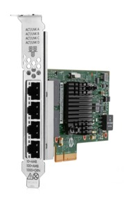 Adaptateur Ethernet HP 1Gb 366T 4 ports
