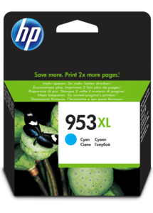 HP 953XL Ink cyan