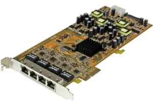 StarTech 4-port PoE PCIe Network Card