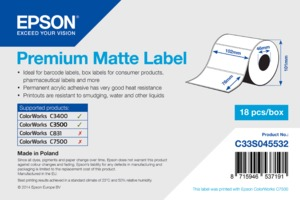 Epson Labels Paper 102x76mm