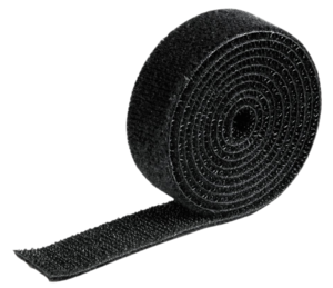 Velcro Cable Binder Roll, 1m, Black