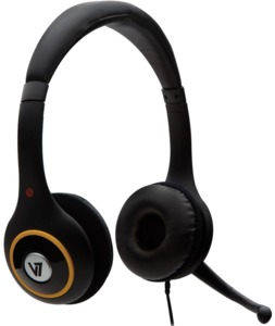 Headset digitale V7 HU511 nero