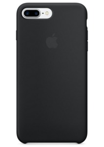 Apple iPhone 7 Plus Silicone Case Black