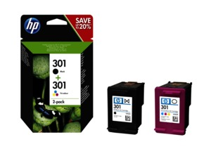 HP 301 Ink Multipack