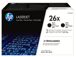 HP 26X Toner Black 2-pack