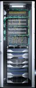 Rittal TS IT 42U Rack Glass Door