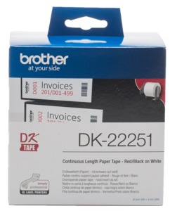 Brother DK-22251 Endlos-Etikett 62 mm