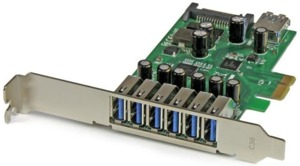 Interfaccia PCIe 7 USB 3.0 StarTech
