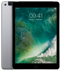 Apple iPad WiFi+Cell 128 GB spacegrau