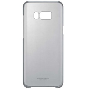 Samsung Galaxy S8 Clear Cover nera
