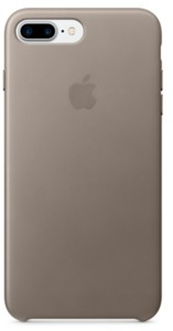Apple iPhone 7 Plus Leather Case Grey