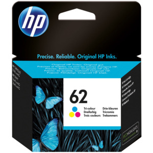 HP 62 Ink Tri-colour