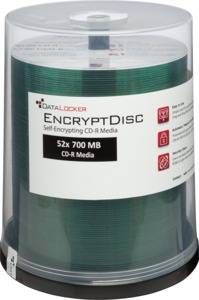 DataLocker EncryptDisc CD-R 100er Pack