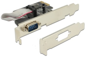 1 interfaccia PCIe x1 seriale DeLock
