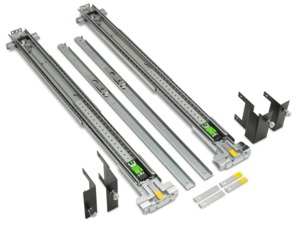 HP Z6/8 Adj. Rail Rack Kit, Flush Mount