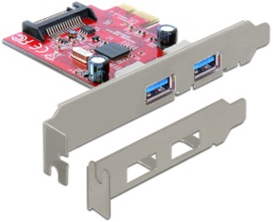 Interface PCIe x1 DeLock USB 3.0 LP
