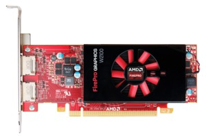HP AMD FirePro W2100 Video Card