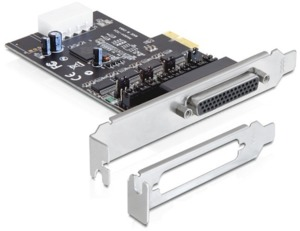 Interfaccia PCIe x1 4 porte seriali