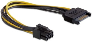 Delock PCI Express Power Adapter 6 Pin