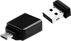 Verbatim NANO 8GB USB Stick + Adapter