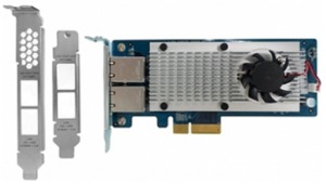 QNAP Dual-port 10 Gbase-T Network Card
