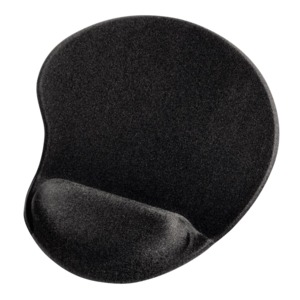 Hama Ergonomic Mouse Pad, Black