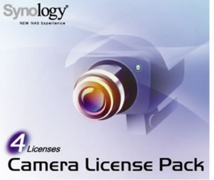 Synology NAS Camera Licence 4-pack