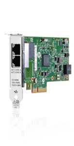 HP 1 Gb 361T Ethernet Adapter with 2P