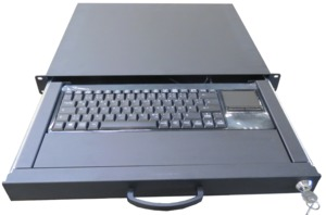 Keyboard Drawer w/ Keyboard + Trackball