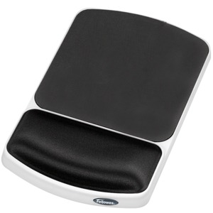 Fellowes Mouse Pad+Gel Handauflage, grau
