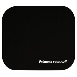 Fellowes Mouse Pad with Microban, Black