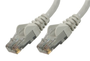 Patch Cable RJ45 F/UTP Cat6 2m Grey