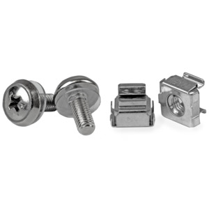 StarTech M5 Screws + Cage Nuts 50-pack