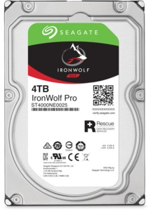 Seagate IronWolf PRO NAS HDD 4 TB