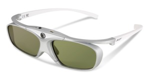 Acer 3D Projector Glasses E4W, White