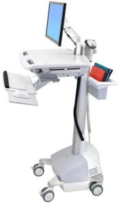 StyleView Medical Cart w/ LCD Arm Power
