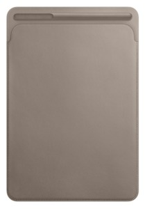 Apple iPad Pro 10.5 Leather Sleeve taupe
