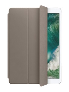 Apple iPad Pro 10.5 Leder Cover taupe