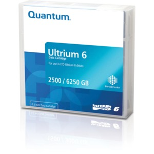 Quantum LTO 6 Ultrium (MP) Tape + Label