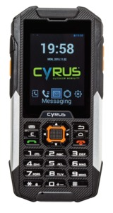 Cyrus CM 16 Outdoor Touch Mobile Phone