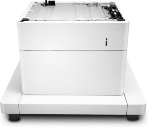 HP 550-sheet Paper Feeder and Cabinet