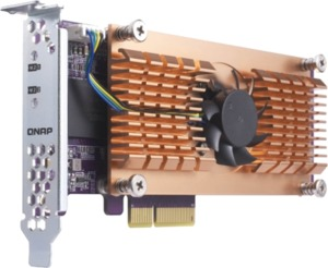 QNAP Dual M.2 PCIe SSD Expansion Card