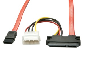 SATA + Power Cable, Internal, 0.5 m