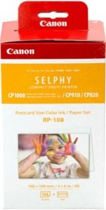 Canon RP-108 Photo Paper + Colour Ribbon