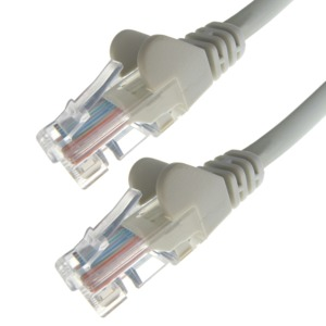 Patch Cable RJ45 Cat6 UTP 1.0m Grey