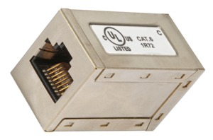Cat6 RJ45 Fe-Fe Shielded Coupler