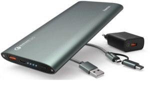 Hama 10.000 mAh Quick Charge Powerbank