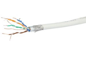 Data Cable Cat5e Strand. SF/UTP 100m Gry
