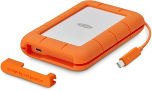 LaCie Rugged Thunderbolt USB-C 500GB SSD